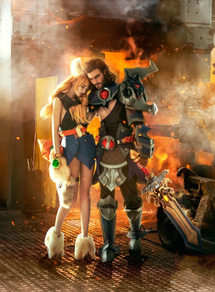 火炬之光精美COS截图  cosplay写真