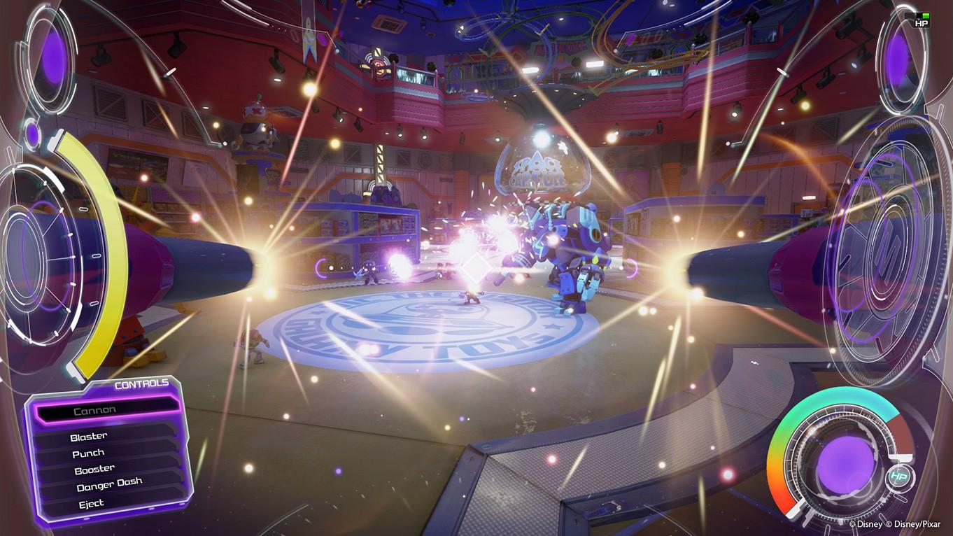 《王国之心3》华丽截图与概念画 巴斯光年出击!