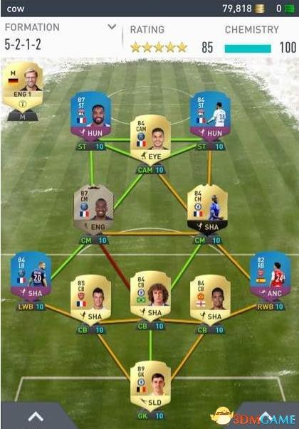 FIFA175212阵型推荐