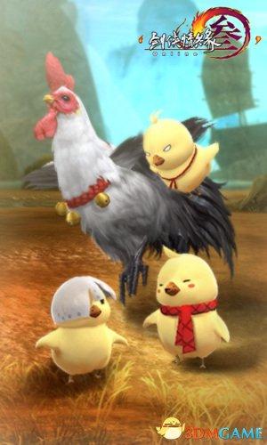 《剑网3》新春贺岁场景惊艳亮相 超多彩蛋抢先看