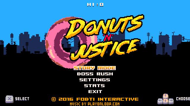 正义甜甜圈 游戏截图