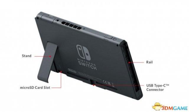 <b>外媒:Switch最高支持2TB SD卡 还支持外部硬盘</b>