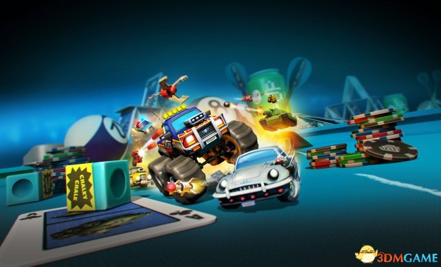 Codemasters赛车新作《迷你机车世界大赛》公布