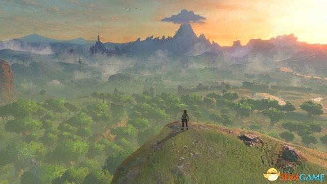 《塞尔达传说:荒野之息》地图尺寸能秒掉上古5?