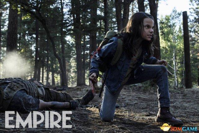 《金刚狼3》连剧照都是R级了 暴力萝莉狼爪染血