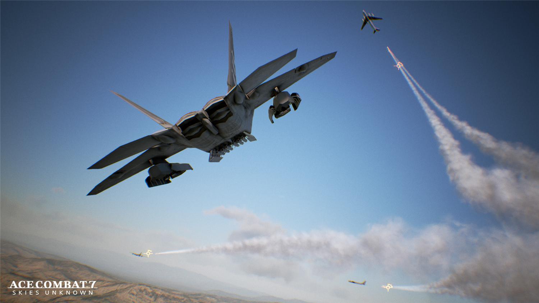 《皇牌空战7》预告视频与高清截图展示炫酷战机