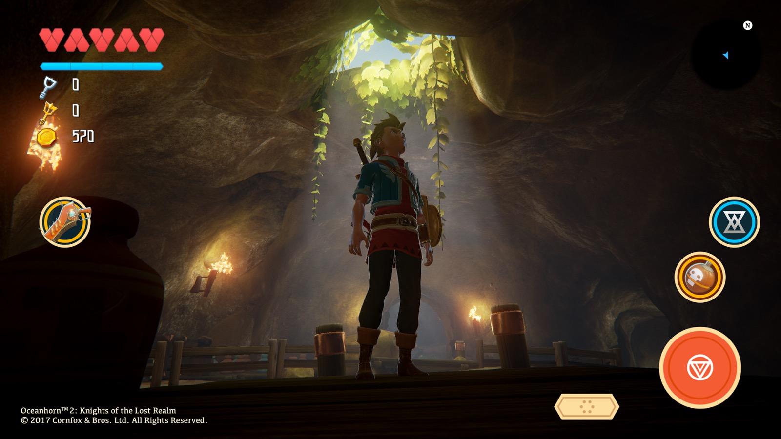 海之号角2:失落王国的骑士 游戏截图