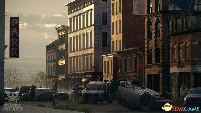 《腐烂国度2》新概念原画 白天黑夜城市风光大不同