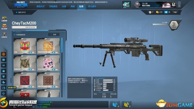 """CODOL传承经典的狙击步枪""""CheyTacM200""""测评"""