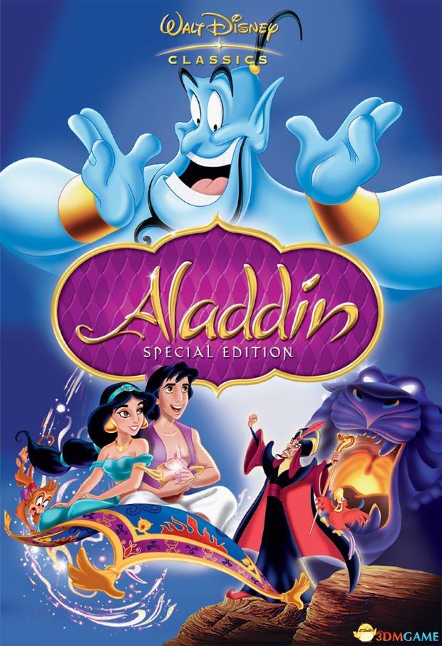 迪士尼动画翻拍 真人版《阿拉丁》将找非白人主演