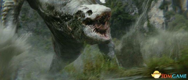 《金刚:骷髅岛》正片片段赏 霸气大猩猩激战怪兽