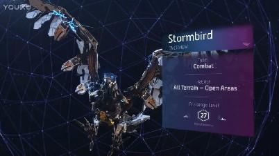 《地平线:黎明时分》暴风鸟介绍