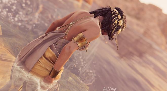 埃及艳后很性感 《刺客信条:起源》探索模式新照