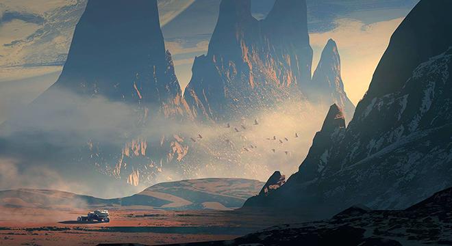 育碧美术总监概念画 负责《刺客信条:起源》开发