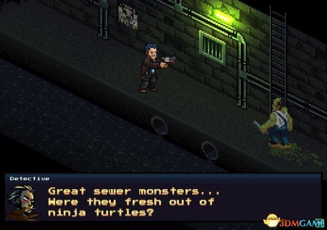 16位像素风格JRPG游戏《黑暗街头》Demo版下载