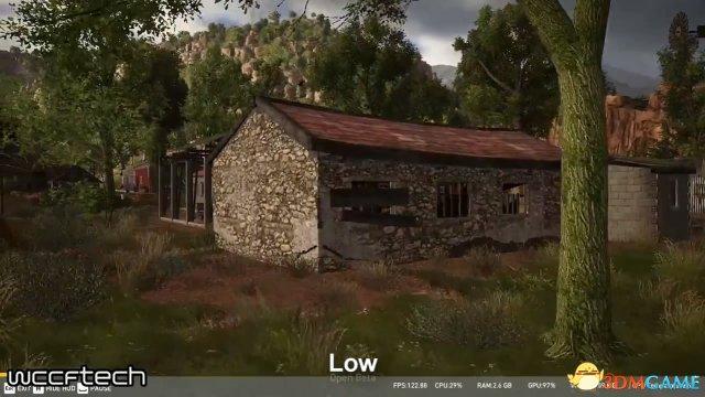 《幽灵行动:荒野》PC版画面对比:低高和最高