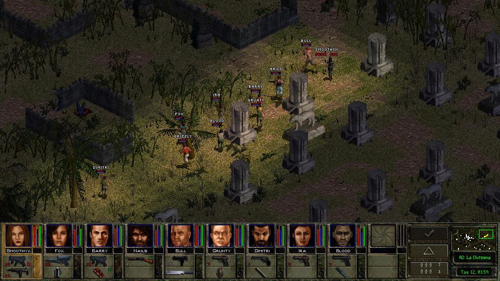 铁血联盟2:野火 游戏截图