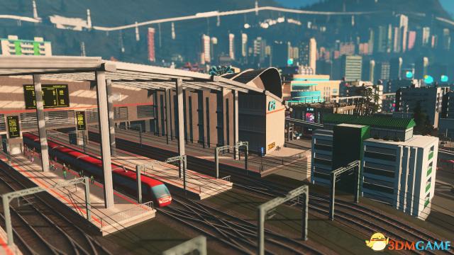 增添内容 《城市:天际线》海量运输扩展包公布