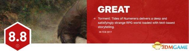《折磨:扭蒙拉之潮》媒体评分汇总 IGN 8.8分