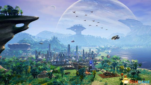 游戏中玩家需要在外星球建立殖民地