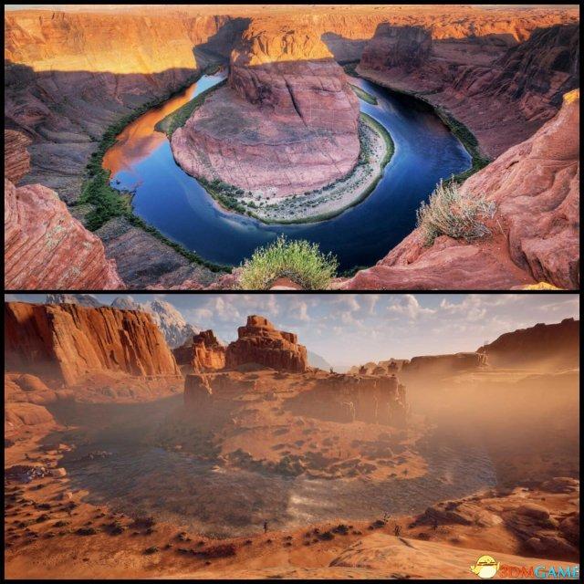 《地平线:零之黎明》真实地标 西部实景末日重生