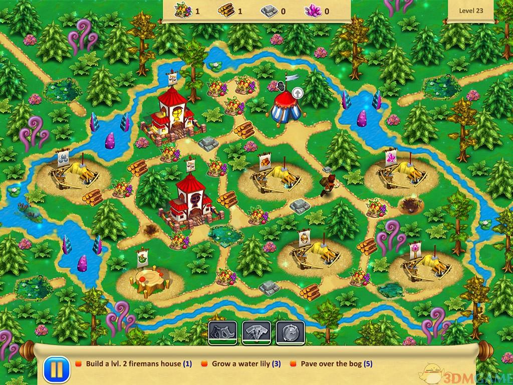 侏儒花园4:新家园 游戏截图