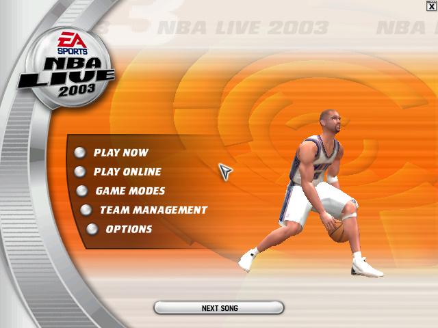 NBA2003 游戏截图