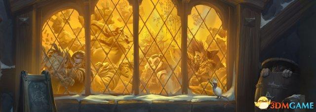 《炉石传说》本周乱斗 装饰暴风城赢安戈洛新卡包