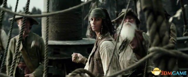 《加勒比海盗5》最新预告 年轻版杰克再次亮相