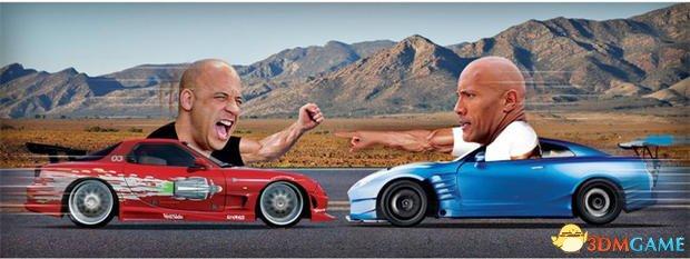 <b>《速度与激情8》迪塞尔和强森闹不和 二人拒同台</b>