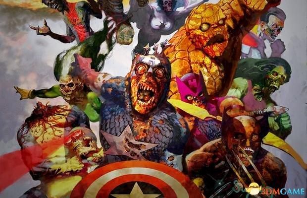 漫威僵尸系列《丧尸英雄》,故事讲述的是变异