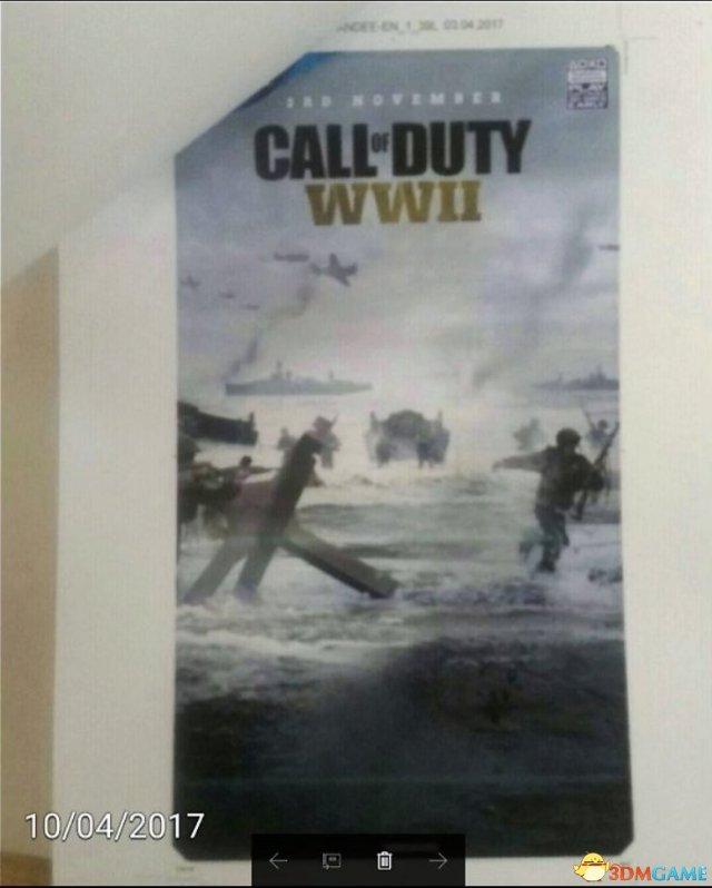 <b>《使命召唤14》海报泄露!游戏将于11月3日发售</b>