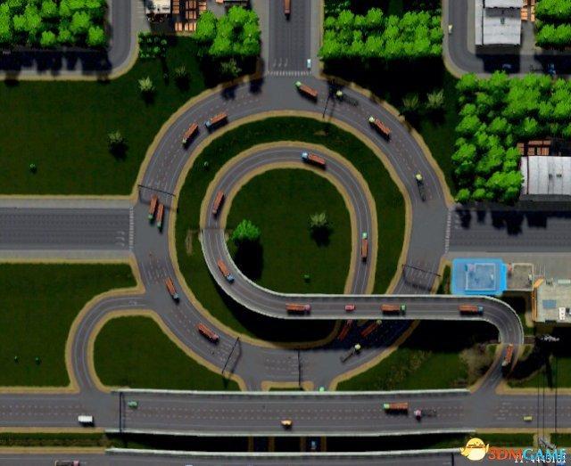《城市:天际线》工业区交通减压规划技巧