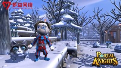 3D人气沙盒游戏 多益网络代理《传送门骑士》国服
