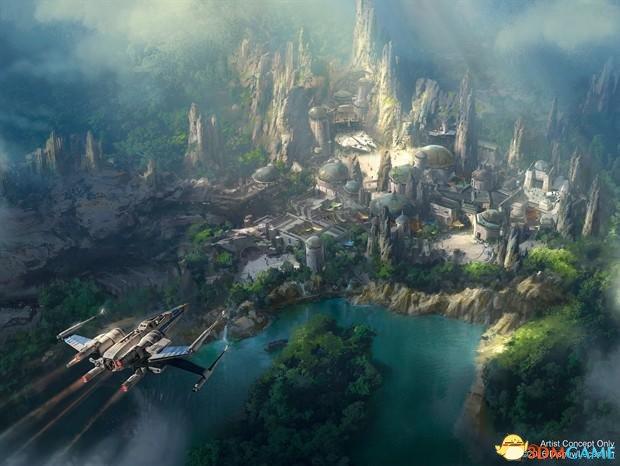 """""""星球大战""""主题公园将会打造一座全新的星球"""