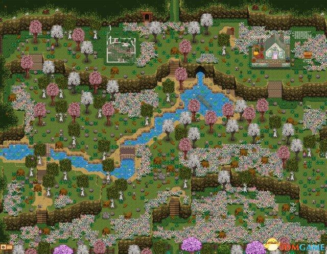 星露谷物语 阿里的山村农场地图MOD