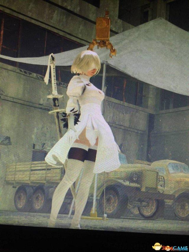 冰冰与白灵_尼尔机械纪元2b白裙子_尼尔:机械纪元 2b小姐姐白色裙子MOD下载 ...
