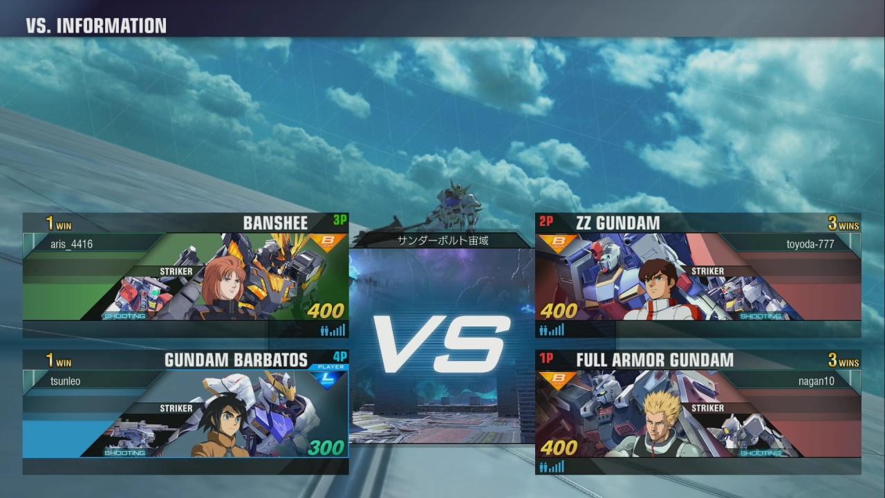 PS4独占《高达Versus》新视频 高达战士激情互怼