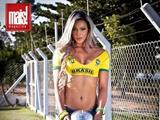 巴西制造爆红正妹裁判 南美洲辣妹就是狂野不羁