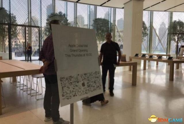 苹果迪拜零售店要开业 只听装饰介绍就挺土豪的