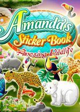 阿曼达的贴纸书:惊人的野外动物 英文硬盘版