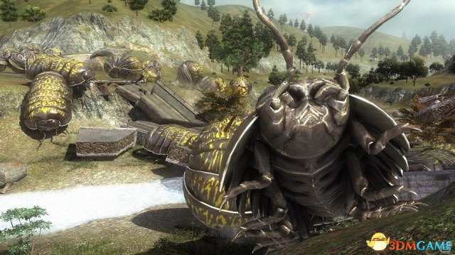 巨大甲虫袭来 PS4《地球防卫军5》震撼新情报发布