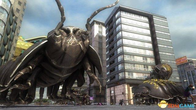 巨大甲蟲襲來 PS4《地球防衛軍5》震撼新情報發佈