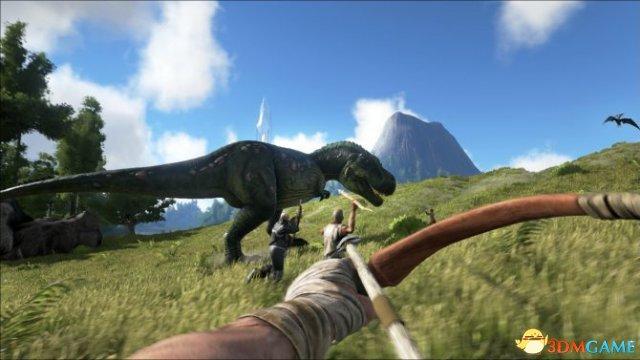 《方舟:生存进化》即将火山喷发 请做好搬家准备