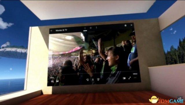 微软展示VR版Windows操作系统 并免费送出VR头显