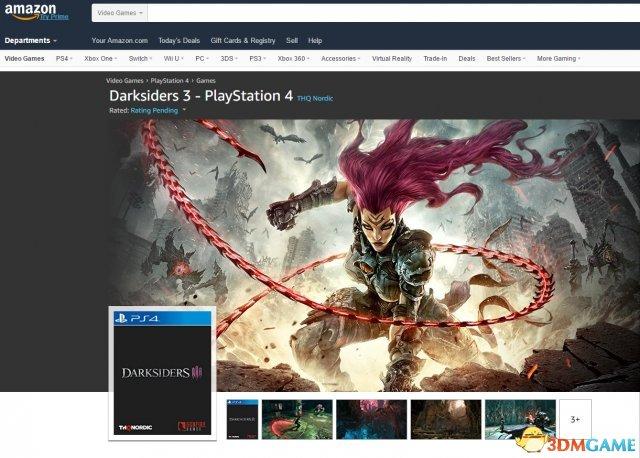 《暗黑血统3》曝光!首批截图公布2018年发售