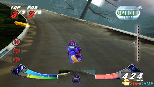 《极限G 2》登陆Steam平台 98年经典竞速游戏回归