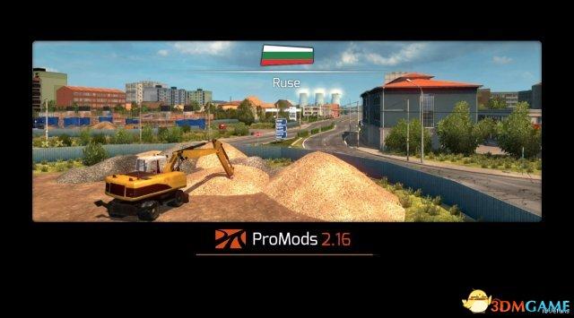 欧洲卡车模拟2 v1.27 ProMods 地图 v2.16