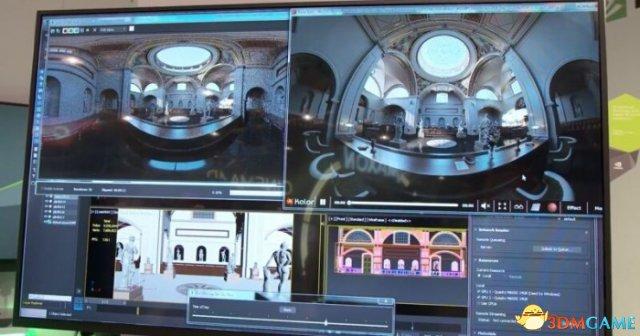 <b>NVIDIA VRWorks SDK使拼接360度音频/视频更容易</b>