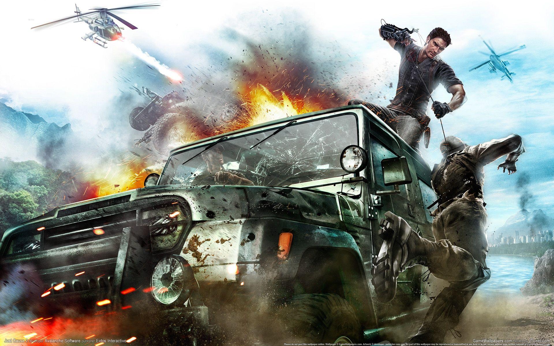 《正当防卫2》限定版DLC升级补丁
